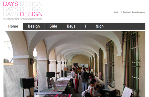 DaysIDesign rete di workshop